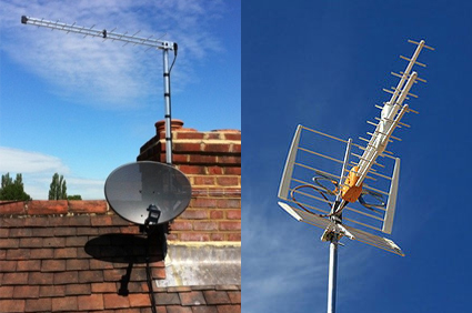 tv aerial in exeter